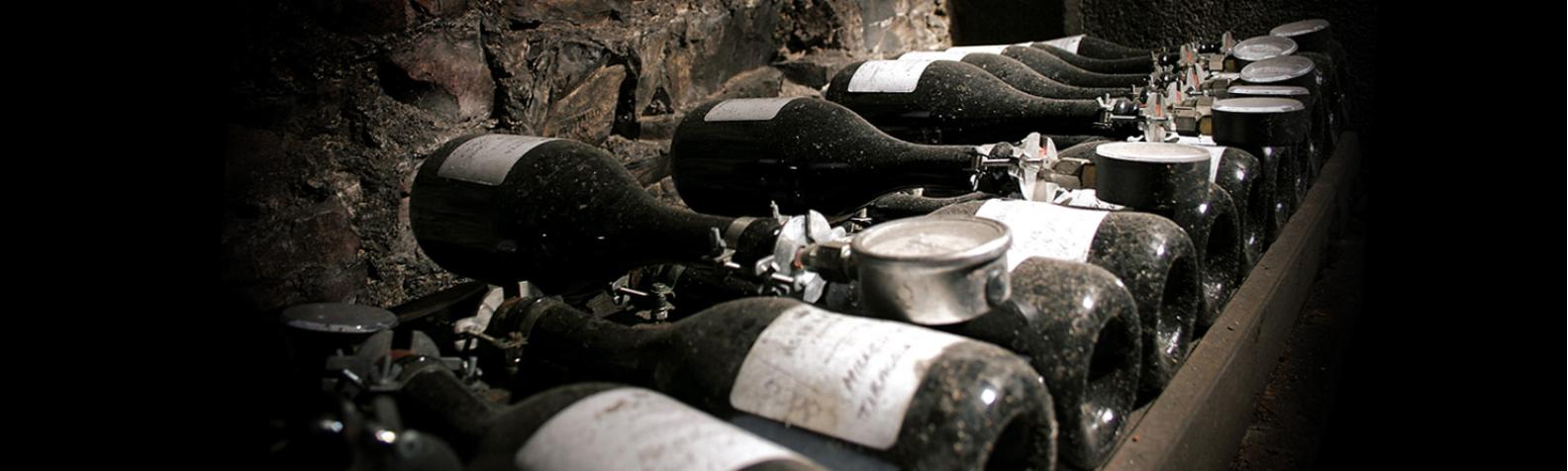 Alte-Weinflaschen