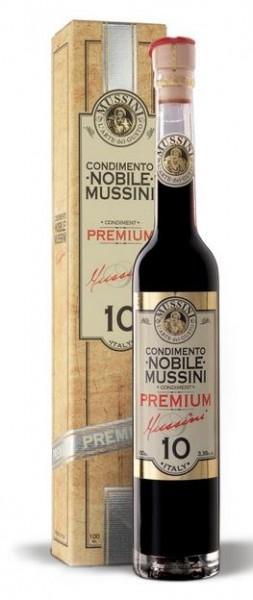 Mussini Condimento NOBILE - Premium n° 10- Balsamico Essig, 100ml - LETZTE STÜCKE!!