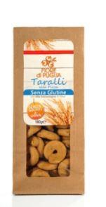 Taralli senza glutine al gusto pizza, 175g - Fiore di Puglia