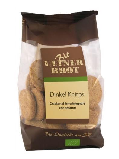 Cracker di farro integrale biologico ca. 165g - Ultner Brot