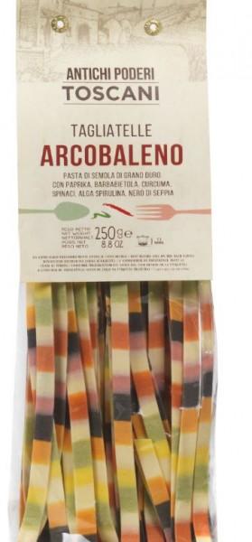 Antichi poderi Tagliatelle Arcobaleno - in Regenbogenfarben, 250g