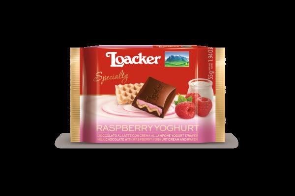 Cioccolato Loacker Specialty Lampone-Yoghurt 55g