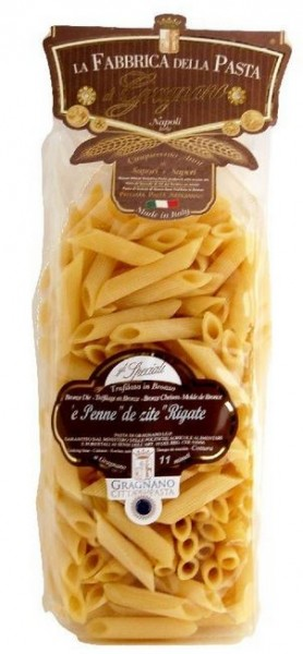 La Fabbrica della Pasta di Gragnano Penne IGP - exzellente Nudeln aus Italien, 500g