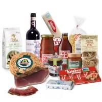 Weekly food box - gemischtes Sortiment von Lebensmitteln