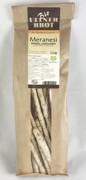BIO Meranesi Dinkel Leinsamen, 100g - Ultner Brot