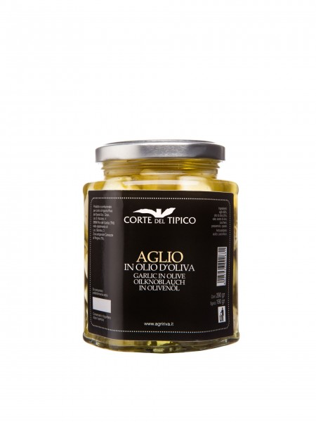 Aglio in olio d'oliva, Vasetto, 290 g - Agraria del Garda