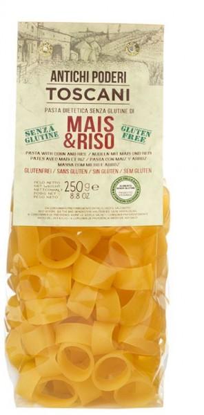 Pasta - farina di mais e riso con calamari. 500g - Antichi poderi Toscani