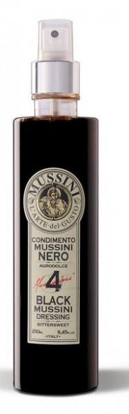Mussini Condimento SPRAY n° 4 - bester Balsamico Essig, als praktischer Zerstäuber, 180ml