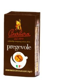 Pregevole Espresso Kaffeepulver, 250g - Barbera