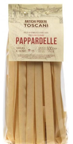Antichi poderi Pappardelle - klassische Teigwarenspezialität aus Italien, 500g