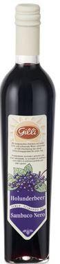 Gilli Schwarzer Holunderbeeren Sirup - Erfrischender Sirup aus Südtirol, 500ml