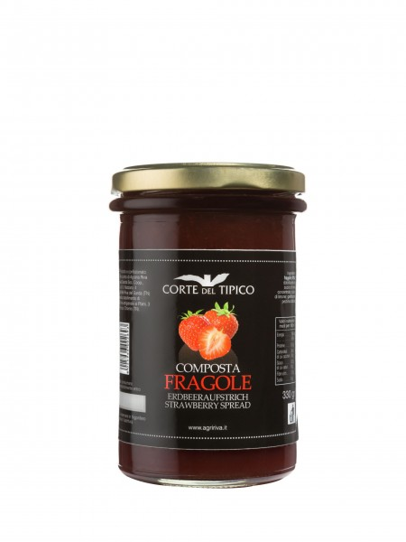 Composta di fragole, Vasetto, 330 g - Agraria Riva del Garda
