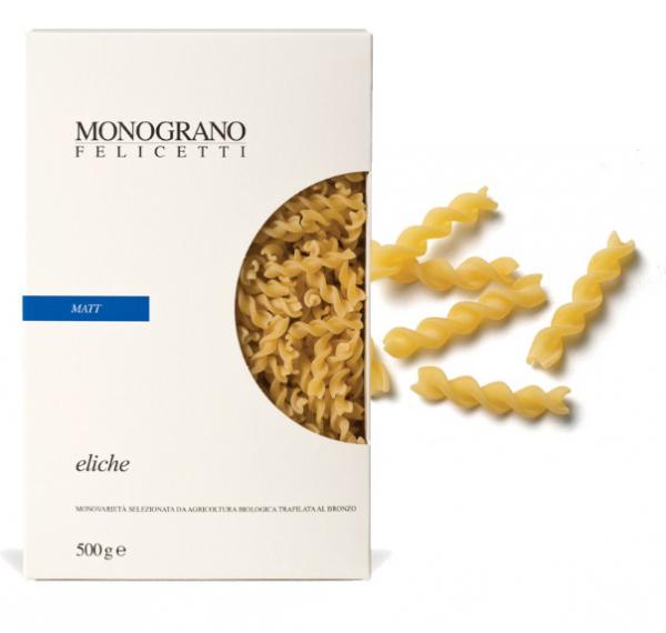 Monograno Felicetti Eliche BIO Matt - kleine Propeller aus Hartweizengrieß, 500g