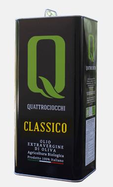 Classico Olio extra vergine d'oliva Latta 5 L – Quattrociocchi