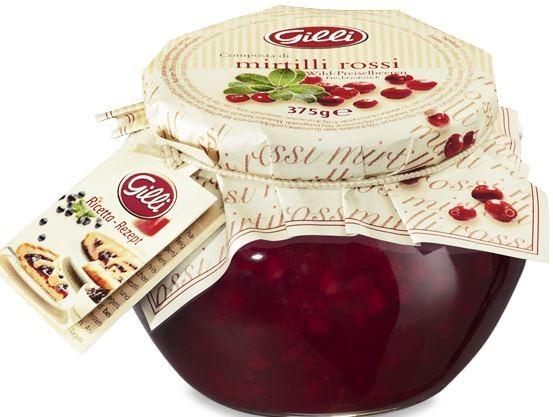 Wildpreiselbeere Fruchtaufstrich 375g - Gilli Food