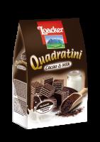 Quadratini Cacao&Milk 250g - l'originale combinazione di sapori in forma di cubo - Loacker