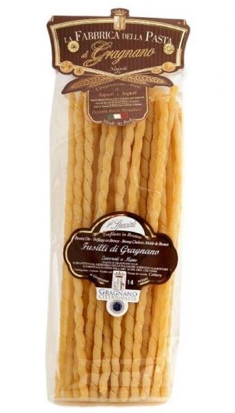 La Fabbrica della Pasta di Gragnano Fusilli IGP- beste Nudeln aus Italien, 500g