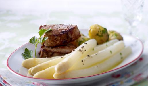 Weisse-Tr-ffelbutter-zu-Spargel-und-Fleisch