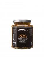 Gemischte Pilzen in Olivenöl, Glas, 290 g - Agraria Riva del Garda