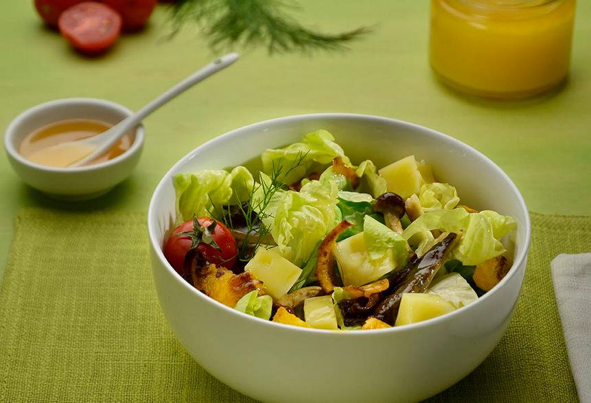 Sonnenblumenhonig-mit-Salat