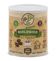 Bio-Kaffeebohnen, 100% Arabica, 250 g in Dose - Caffè Europa