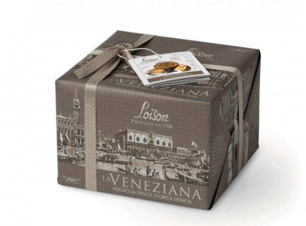 La Veneziana Focaccia Dolce Veneta Cioccolato e Spezie 550 g - Loison