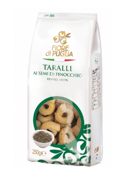 Taralli mit Fenchel, 250g - Fiore di Puglia
