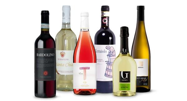 Großer Wein - kleiner Preis - 6 entzückende Weine zu einem super Preis