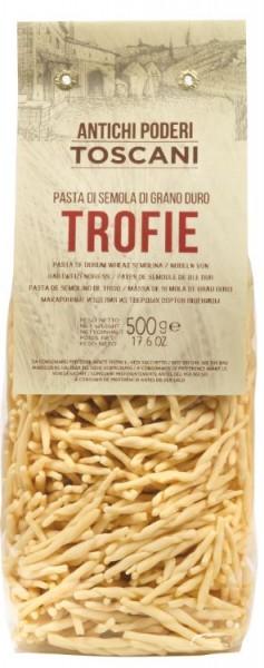Antichi Poderi Toscani Trofie - Nudelspezialität aus der Toskana, 500g