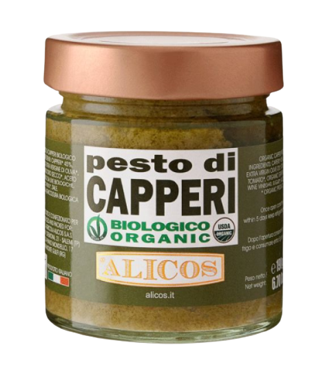 Pesto di Capperi BIO 190g - Alicos