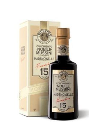 Mussini Condimento NOBILE Mademoiselle n° 15 - Balsamico Essig DELUXE, beste Qualität, 250ml