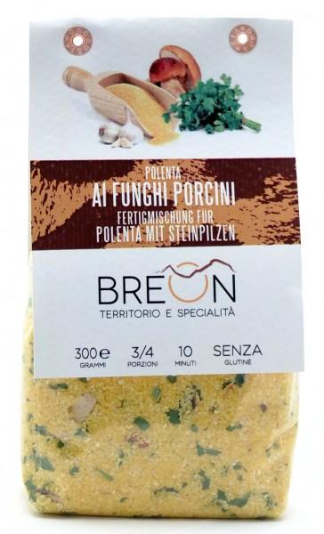 Breon Polenta mit Steinpilzen - fertige Mischung zur Polenta Zubereitung, 300g