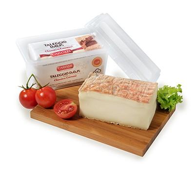 Taleggio DOP Classico Carozzi, formaggio morbido di mucca in vaschetta, 230 gr. - Carozzi Formaggi