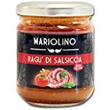 Ragú di salsiccia fatta in casa, sugo con salsiccia e pomodori, 212 ml - Mariolino