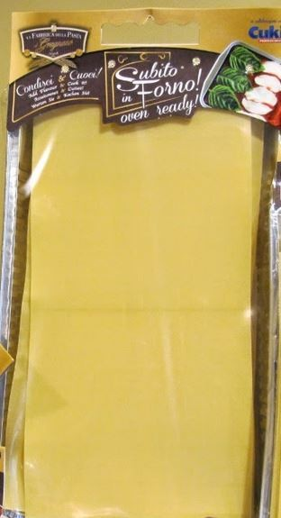 La Fabbrica della Pasta di Gragnano La Lasagnetta - Lasagneblätter mit gratis Backform, 500g