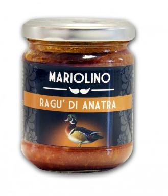 Mariolino Sughi Entenragout - Sauce mit Entenfleisch, 212 ml