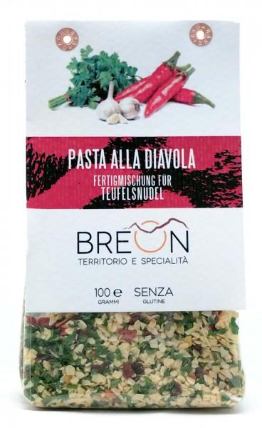 Breon Mix Teufelspasta - fertige Mischung für Pasta alla Diavola, 100g