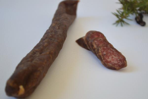 Wildschweinkaminwurzen, Knabberwurzen, 3 o. 5 Stk. - Raich Speck