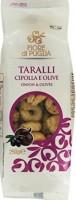 Taralli alla cipolla e olive, 250 g - Fiore di Puglia