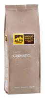 Kaffebohnen Crematic, für Café Crema, 1Kg, ganze Bohnen - ALPS COFFEE