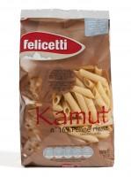 Felicetti BIO Kamut Penne Rigate aus Italien - Bio-Nudeln mit Kamutmehl, 500g