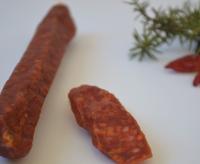 Salamini affumicati con peperoncino - Macelleria Raich Speck