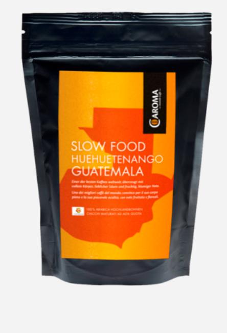 caroma kaffee slow food huehuetenango guatemala 100. Black Bedroom Furniture Sets. Home Design Ideas