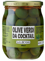 Grüne Cocktailoliven, 340g - Alicos