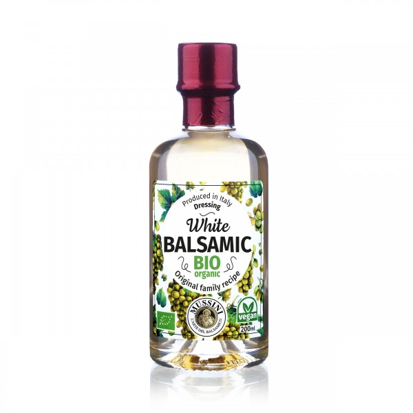 Condimento Balsamico Bianco BIO, I.G.P. , 200ml - Mussini
