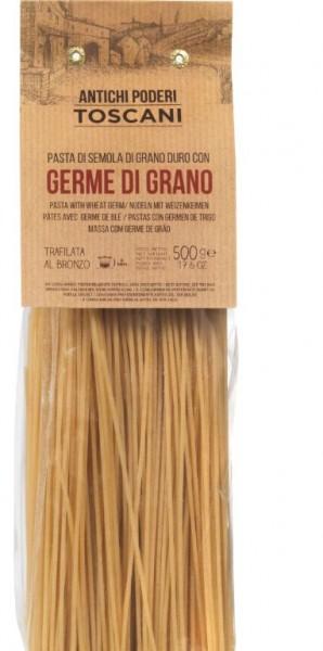 Antichi poderi Toscani - beste Spaghetti mit Weizenkeimen, 500g