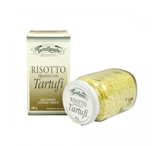 Tartuflanghe Risotto mit Trüffeln - fertige Reismischung mit Trüffeln, 240g