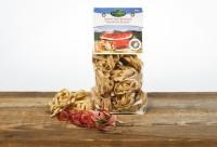 Eggerhof Specknudeln aus Südtirol - Eierbandnudeln mit Schinkenspeck verfeinert, 330 g