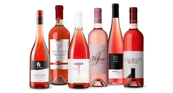 Selection Roséweine - 6 Rosé Flaschen von höchster Qualität