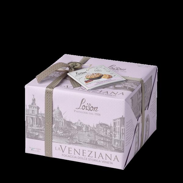 La Veneziana Panettone con Amarene e Cannella 550 g - Loison